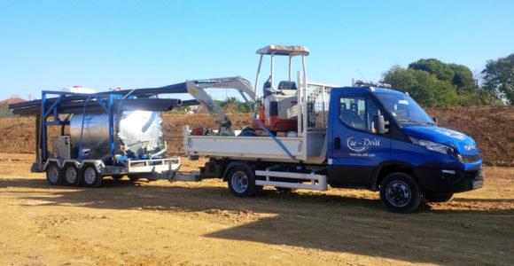 Camion de transport léger Iveco