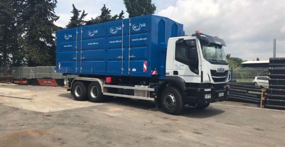 Camion de transport lourd Iveco 450