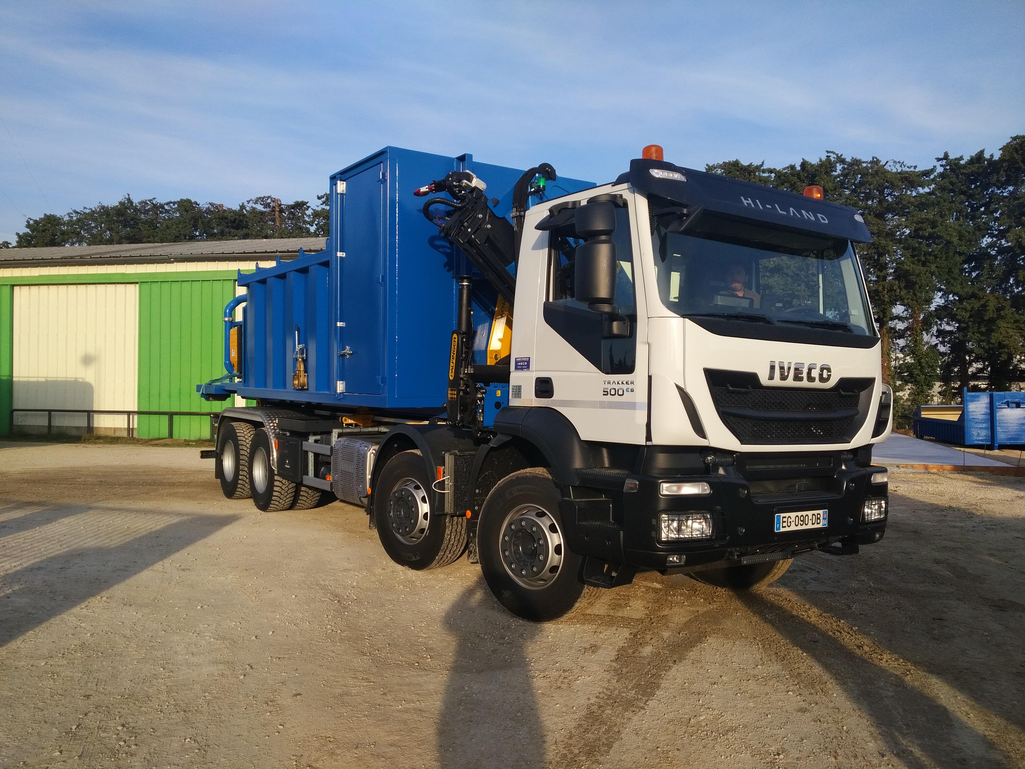 Camion de transport lourd Iveco